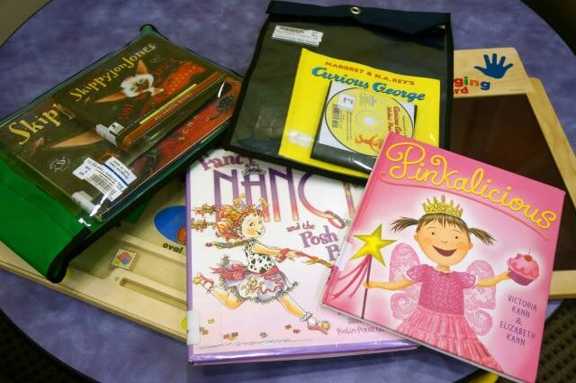 library books on cd for kids