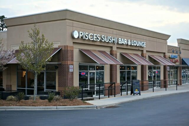 pisces sushi mooresville