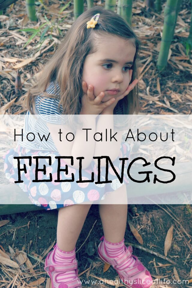 how to teach your child about feelings