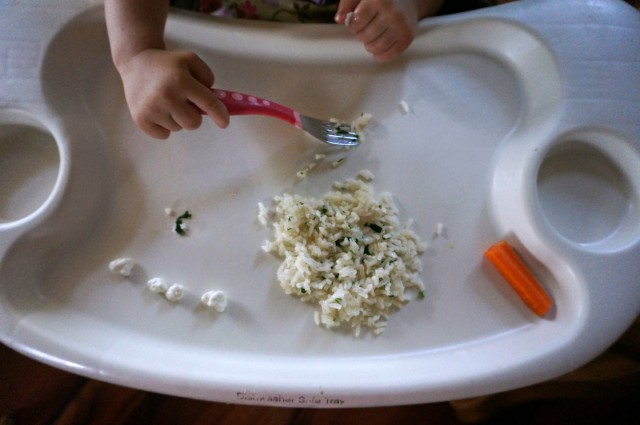 baby lunch