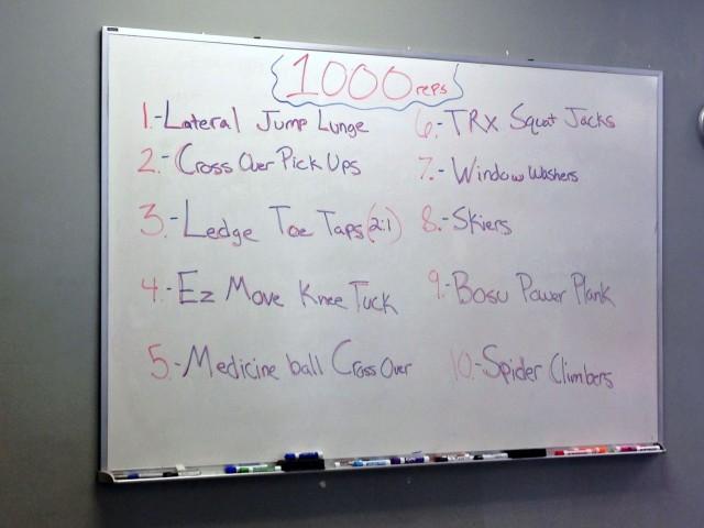 burn bootcamp 1000 rep workout