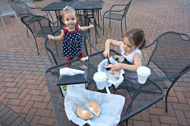 girls breakfast out