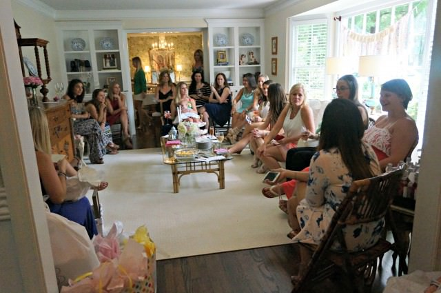 kristin's baby shower guests