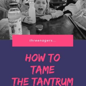 threenager tantrum