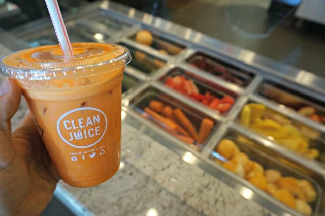 clean juice birkdale