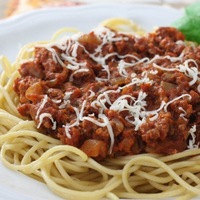 Mom's Homemade Spaghetti Sauce