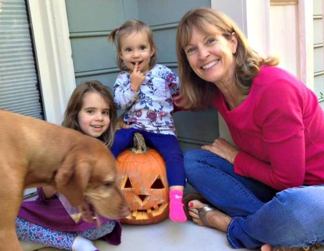 nana and the girls