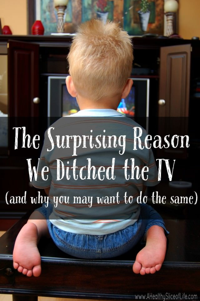 why we ditched the TV