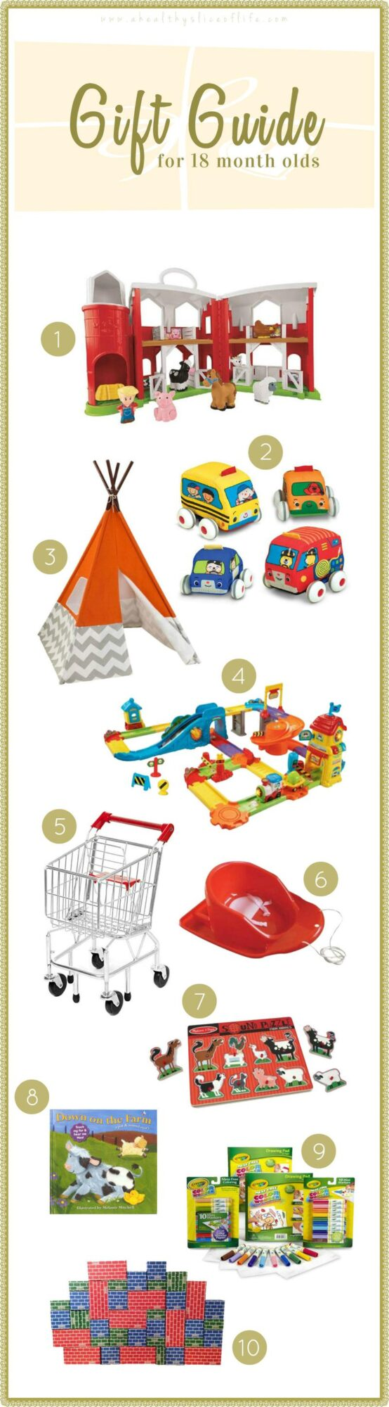 Gift Guide, 18 months old