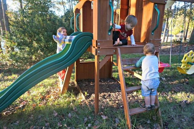 day in the life 17 months and 4 years old- 10