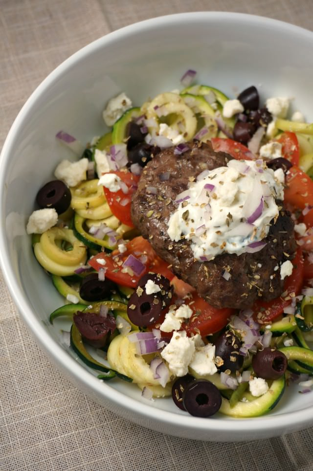 gyro zoodle bowl