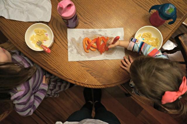 kids dinner