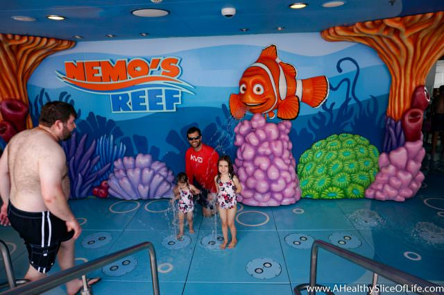Disney Dream splash pad Nemo's Reef