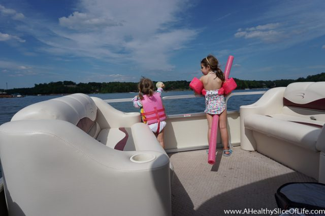 boating with small kids