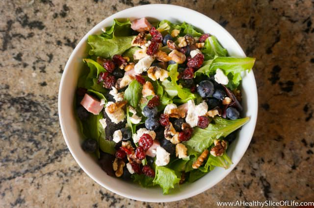 healthy dinner ideas- salad