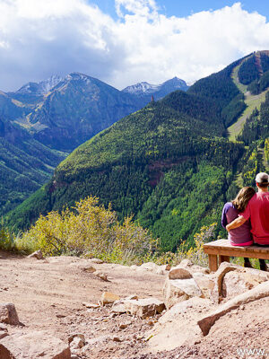 Telluride Colorado - summer -Jud Weibe Trail