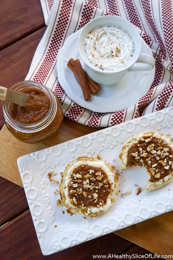 sweet potato butter ricotta toast