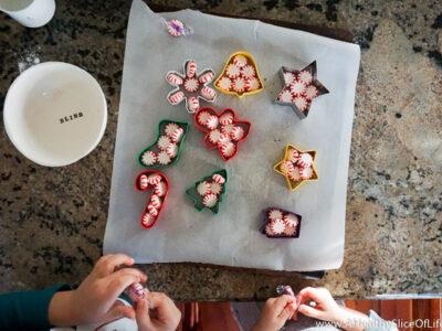 peppermint Christmas craft
