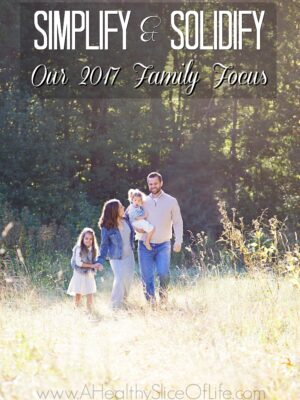 our new year family focus