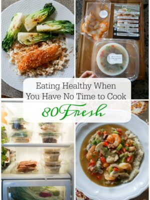 how to eat healthy when you have no time to cook