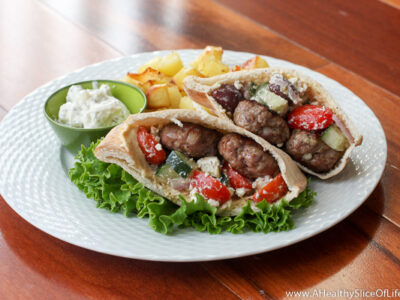 at home gyro pitas