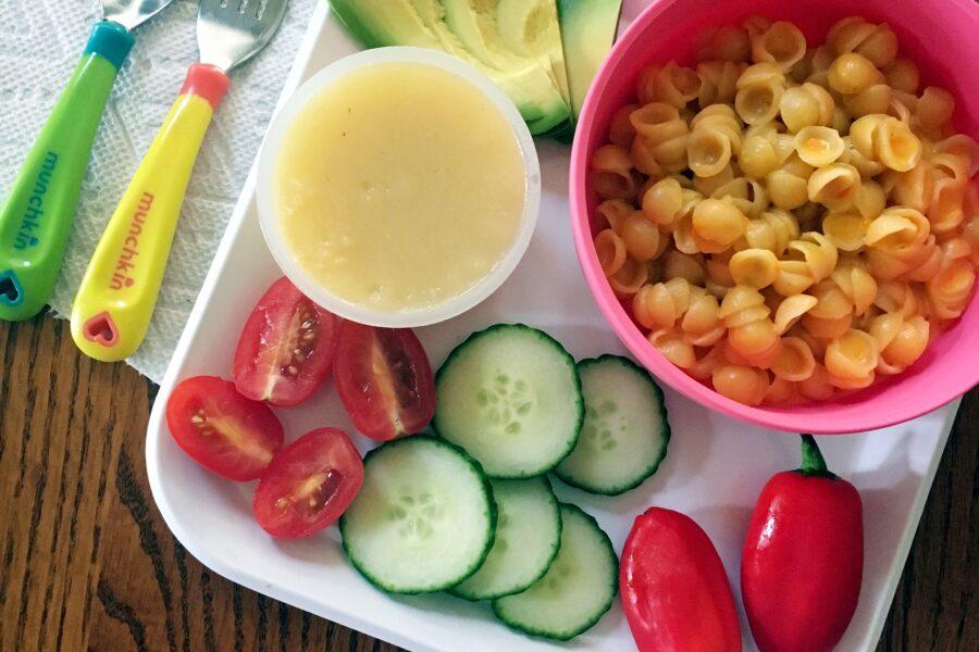 annie's mac n cheese kid plate