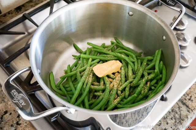 butter garlic green beans