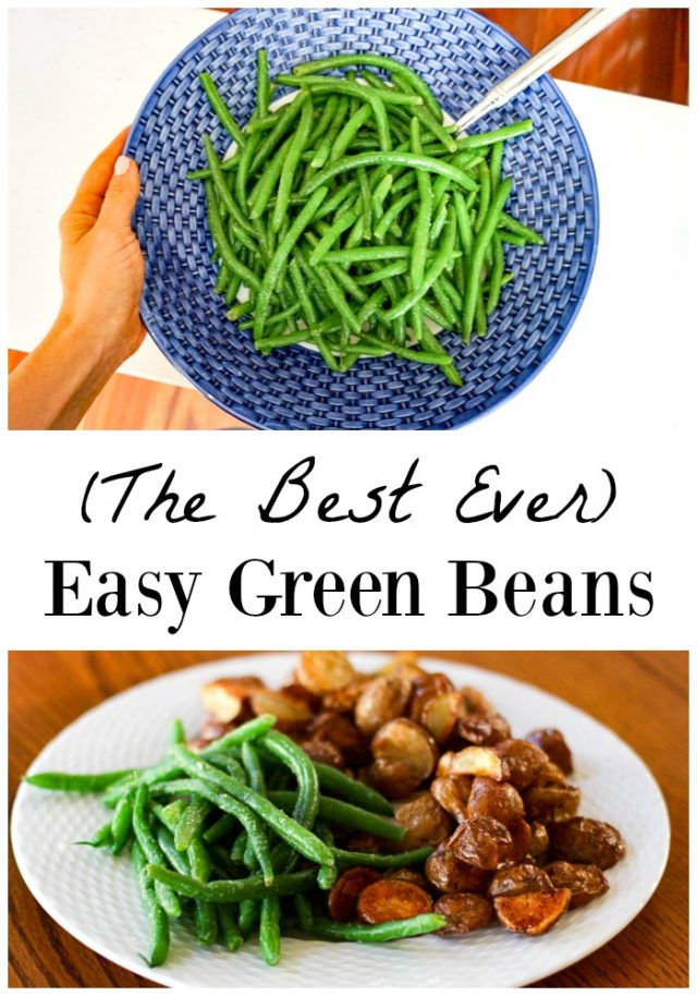 easy green beans for the family recipe