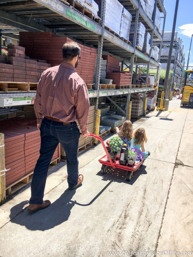 kids at Lowe's Home Improvement