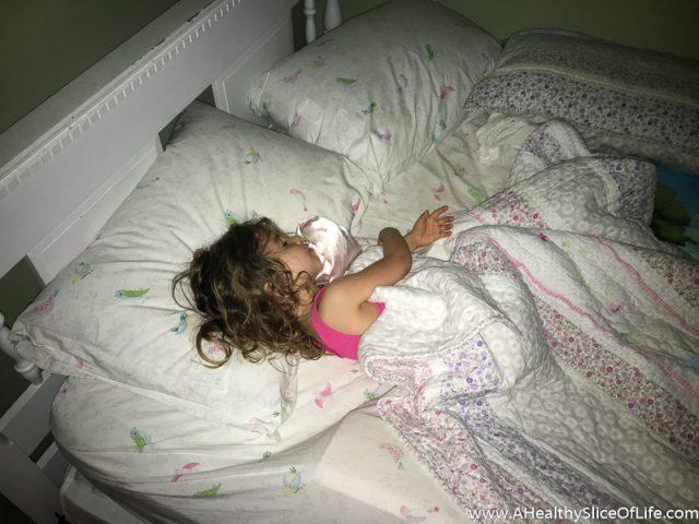 three year old sleeping