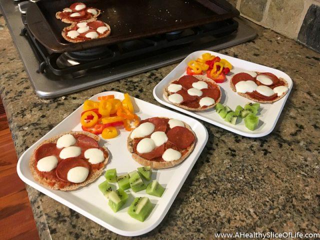 sandwich pizzas for kids