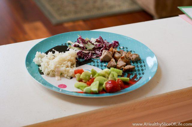toddler pork plate