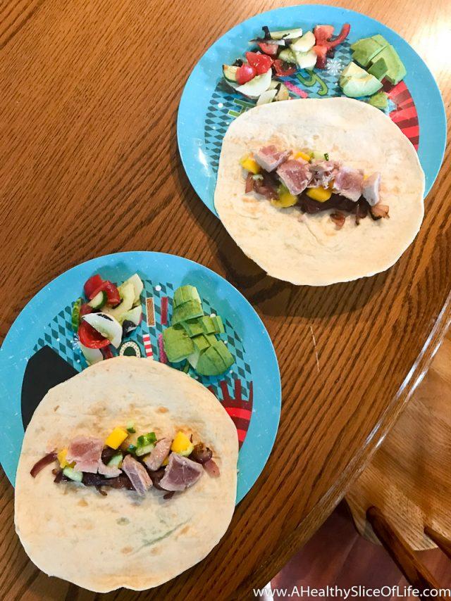 tuna tacos for kids