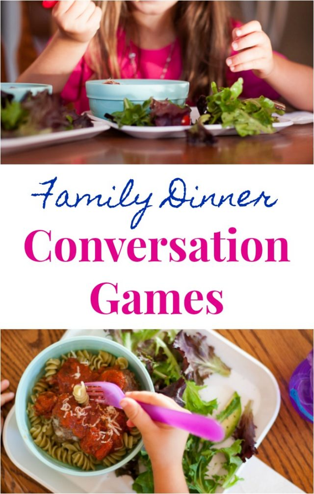 Family Dinner Conversation Starters for Young Kids