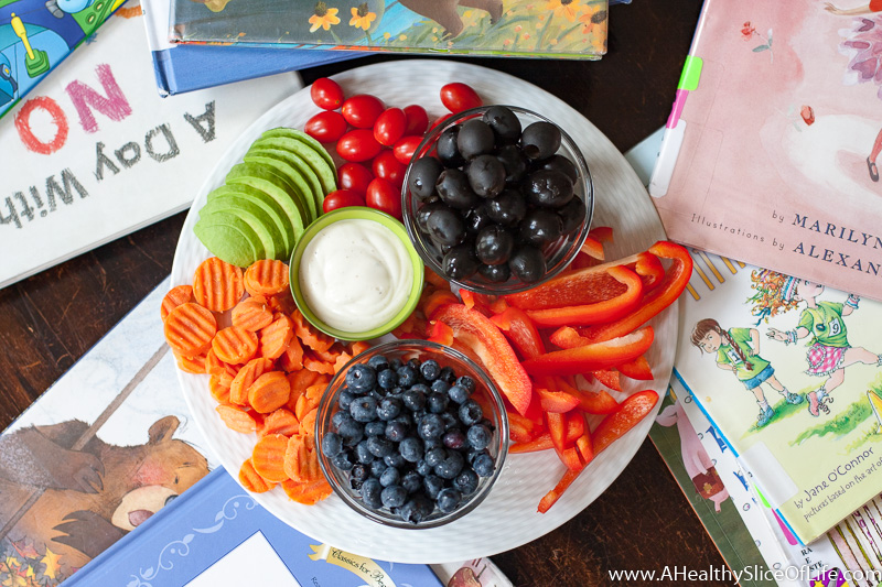 summer snack plate