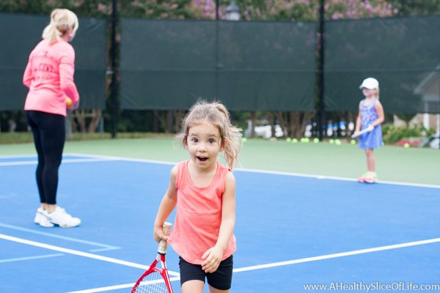 three year old tennis