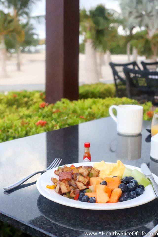 ritz carlton aruba breakfast