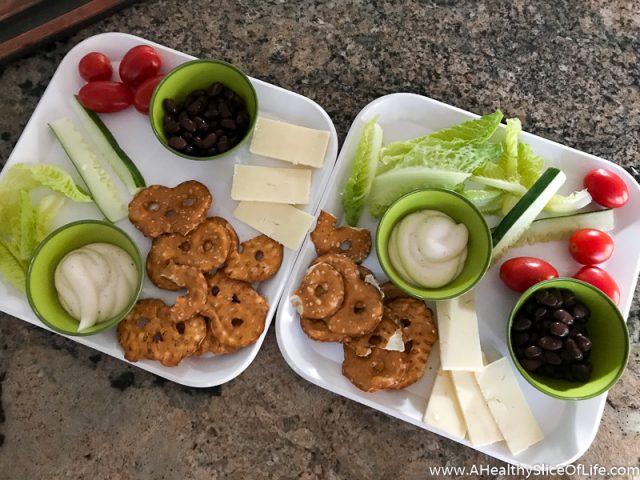 dippable salad