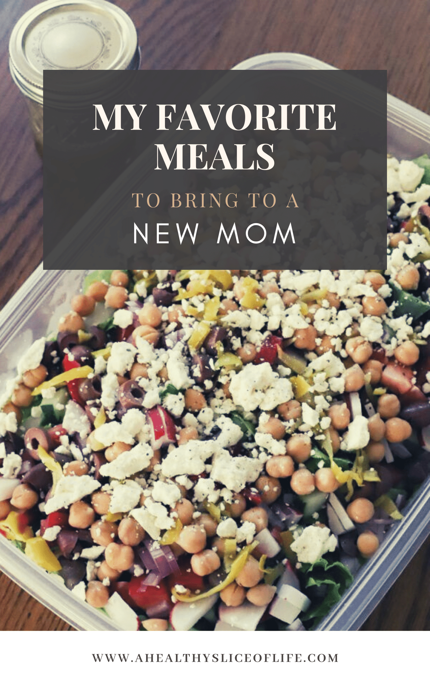 meals to bring a new mom