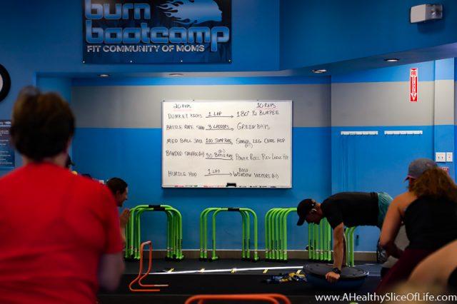 Burn Boot Camp Whiteboard Workout