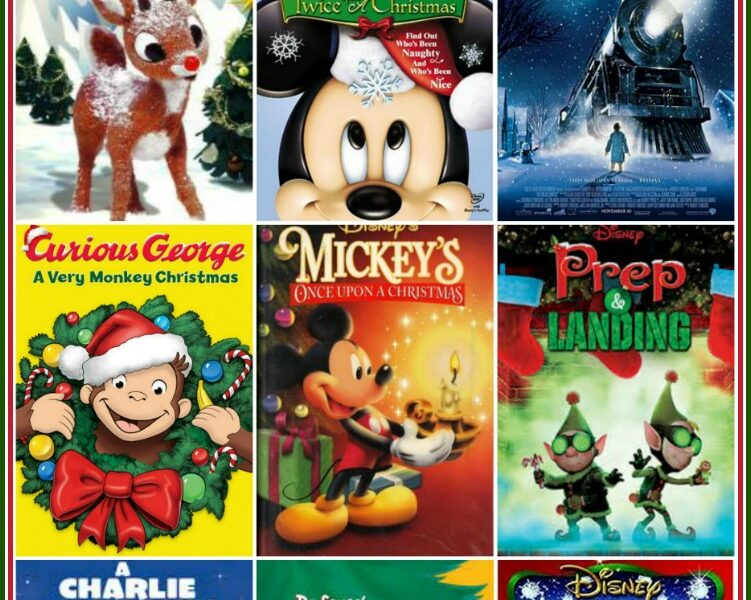 A List of the Best Christmas Movies for Kids Under 5