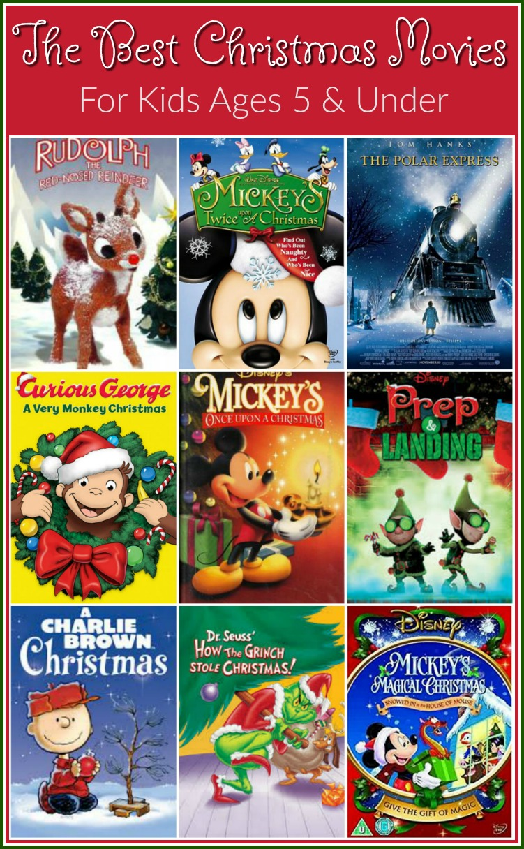 The Absolute Best Christmas Movies For Preschoolers