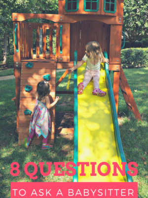 questions to ask a new babysitter