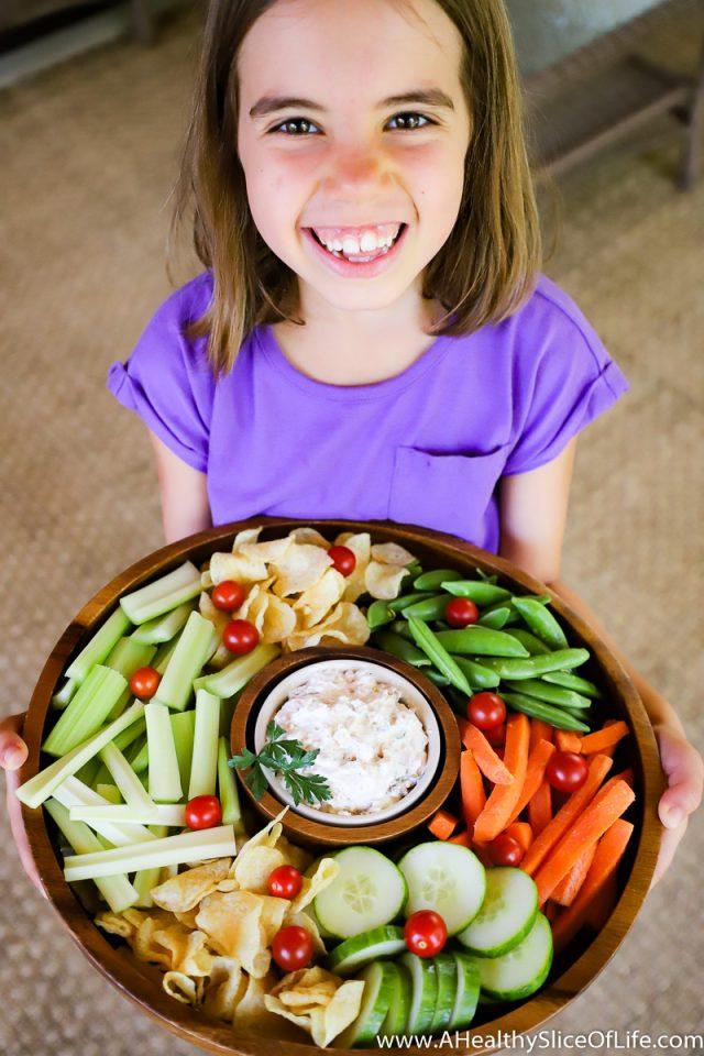 summer onion dip kid
