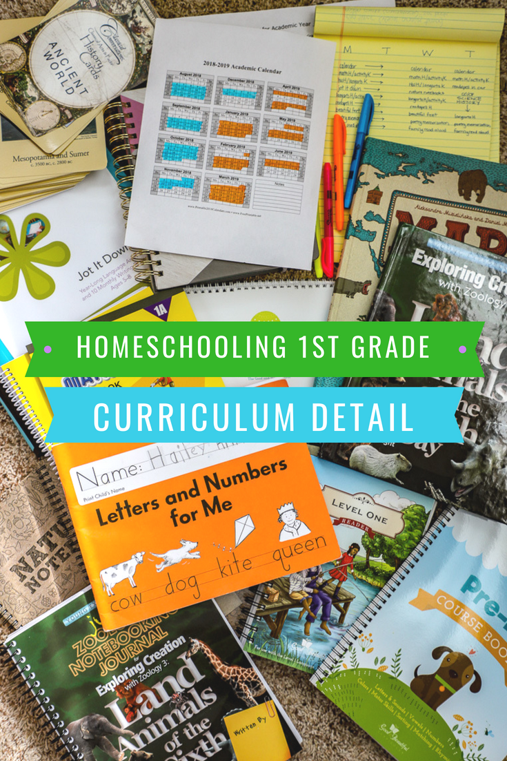 Homeschooling First Grade: Our Curriculum and Plans for the Year