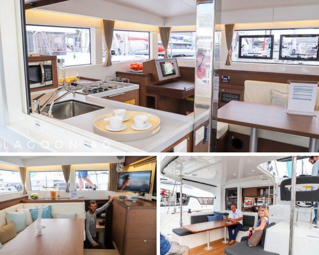 Annapolis Boat Show Lagoon 40 catamaran