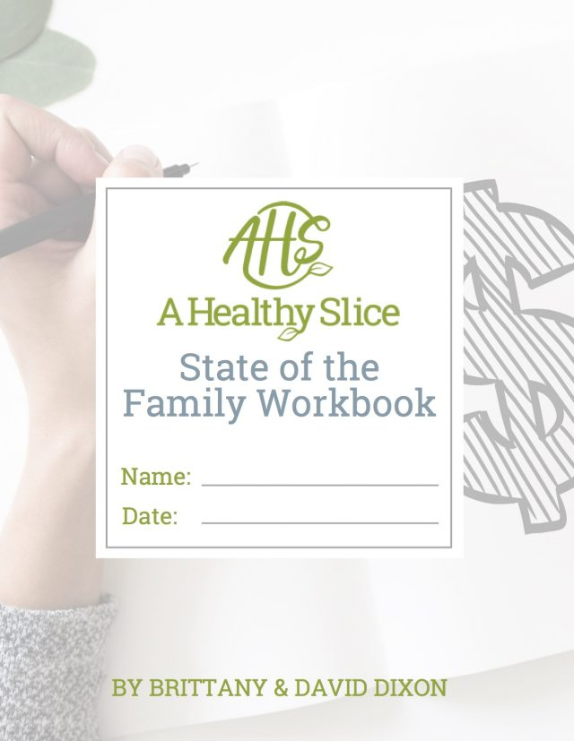 AHS State of the Family Workbook