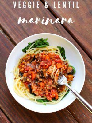 lentil marinara recipe
