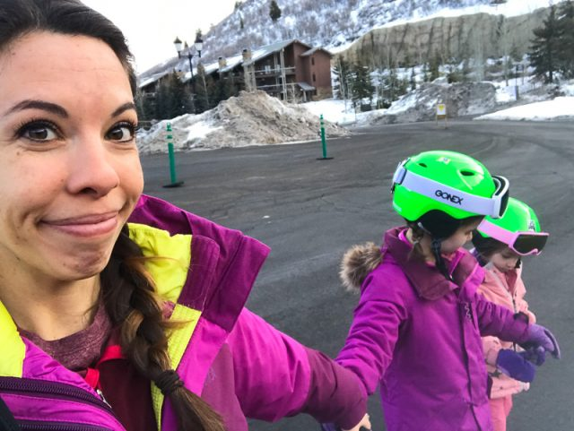 deer valley family ski trip with kids
