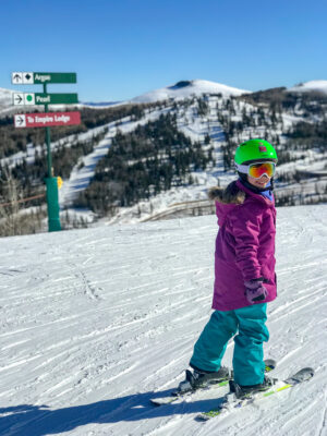 deer valley family ski trip